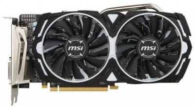 Відеокарта MSI Radeon RX 570 8GB DDR5 ARMOR OC (RX_570_ARMOR_8G_OC)