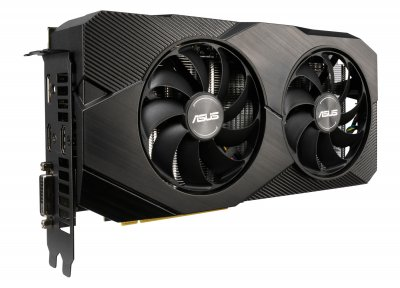 Відеокарта Asus GeForce RTX2060 6GB GDDR6 DUAL EVO (DUAL-RTX2060-A6G-EVO)