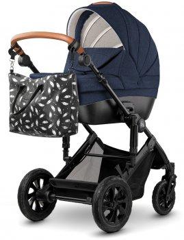 Универсальная коляска 2 в 1 Kinderkraft Prime Navy + MommyBag (5902533914890)