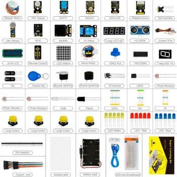 Супер набор Keyestudio Кit + 32 урока обучения для Arduino