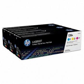 Картридж HP CLJ 128A CMY Tri-Pack, CP1525/CM1415 (CE321/322/323) (CF371AM)