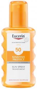 Солнцезащитный спрей Eucerin SPF 50 200 мл (4005800005459)