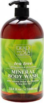 Гель для душа Dead Sea Collection с минералами Мертвого моря и маслом чайного дерева 1000 мл (830668008670)