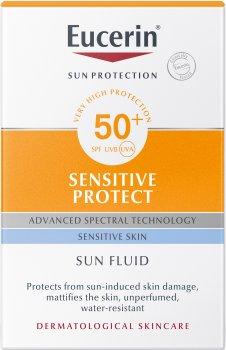 Солнцезащитный флюид для лица Eucerin для чувствительной кожи SPF 50 50 мл (4005800147005)
