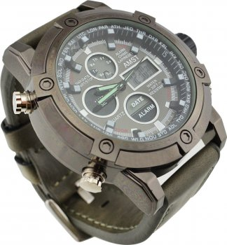 Мужские часы AMST QW73 AM3022 Grey