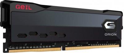 Оперативна пам'ять GeIL DDR4-3200 8192 MB PC4-25600 Orion Black (GOG48GB3200C16ASC)