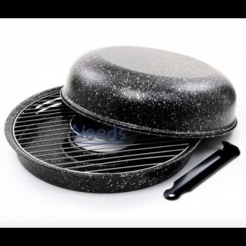 Сковорода Гриль-Газ Румунія d 33 см Black
