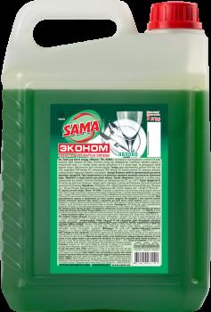 Средство для мытья посуды SAMA Яблоко 5 л (4820020261191)
