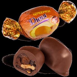 """Конфеты шоколадные Skava """"Дыня с грецким орехом"""""""