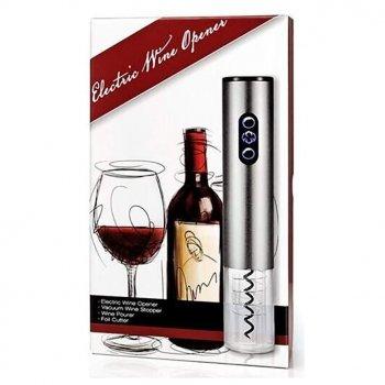 Автоматичний штопор для вина з аератором, пробкою і ножем для фольги WBO1 - 223331