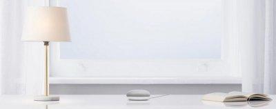 Набір з розумною колонки з голосовим помічником і смарт лампочки GE, Google Smart Light Starter Kit (2700K / тепле світло) (GA00518-US)