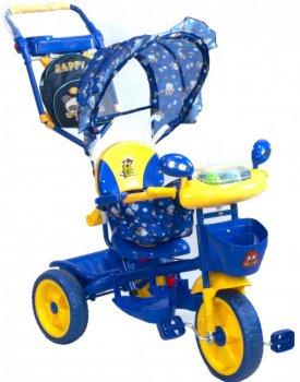 Велосипед трехколесный Малятко TC-R107A-2A синий (04611-П-С)