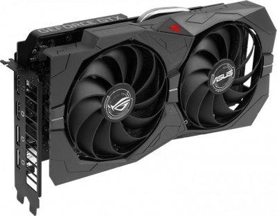 Відеокарта ASUS GeForce GTX1650 SUPER 4096Mb ROG STRIX ADVANCED GAMING (ROG-STRIX-GTX1650S-A4G-GAMING)