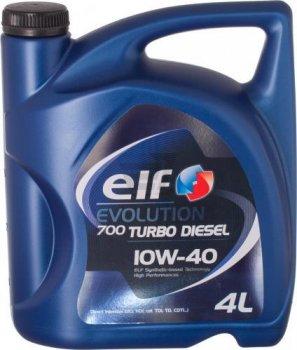 Моторное масло Elf Evolution 700 Turbo Diesel 10W40 (4л)