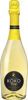 Упаковка напитка на основе вина КОКО Mango белый сладкий 0.75 л 5.0-6.9% 12 шт (24820001462726)