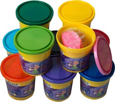Набор теста для лепки ZiBi Baby Line 24 шт 12 цветов (ZB.6250) (4823078932815)