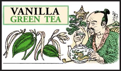 Чай зелёный рассыпной крупнолистовой Ваниль, Млесна (Mlesna) 500г. (01-012 vanilla)