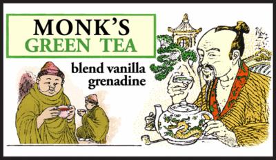 Чай зеленый рассыпной крупнолистовой Манкс Бленд, Млесна (Mlesna) 100г. (01-008 Monk`s blend)