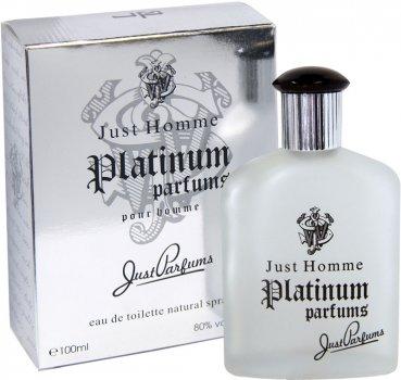 Туалетная вода для мужчин Just Parfums Whisky Platinum Edt 100 мл (8903386004261)