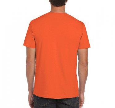 Футболка Gildan Softstyle 64000-2026C Жовтогаряча
