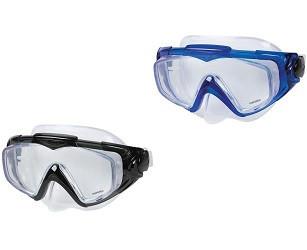 Маска для подводного плавания Intex 55981 Silicone Aqua Pro для взрослых и подростков от 14 лет, 2 цвета (SKU_250477)