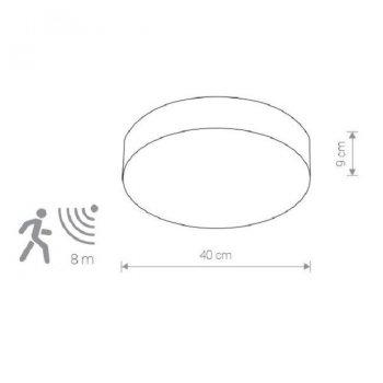 Світильник для ванної Nowodvorski 8833 Arena sensor