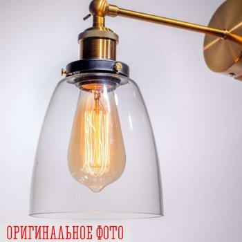 Бра loft Gold/Clear d14см