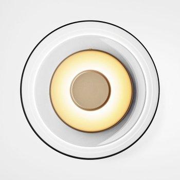 Бра LED Jellyfish Gold/Amber D23/H9
