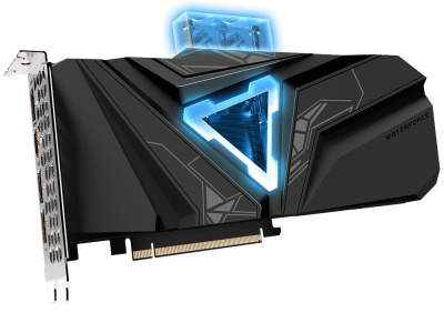Gigabyte PCI-Ex GeForce RTX 2080 Super Gaming OC Waterforce WB 8G 8GB GDDR6 (256bit) (1845/15500) (HDMI, 3 x DisplayPort) (GV-N208SGAMINGOC WB-8GD)