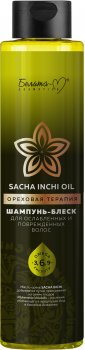 Шампунь-блеск Белита-М Sacha Inchi Oil Ореховая терапия для ослабленных и поврежденных волос 400 г (4813406007582)