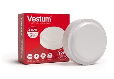 Світильник ЖКГ LED 12W коло 4500K 220V Vestum
