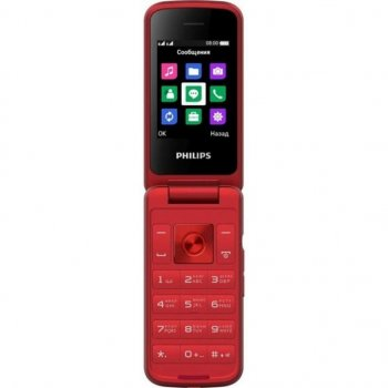 Мобільний телефон PHILIPS Xenium E255 Red