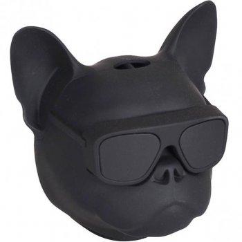 "Портативна Bluetooth колонка"" Голова собаки"" 597-5 (Чорний)"