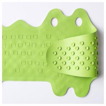 Коврик в ванну IKEA (ИКЕА) PATRULL зеленый крокодил (101.381.63)