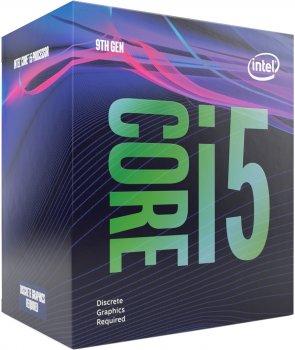 INTEL Core™ i5 9400F s1151 6 ядер 2.9GHz/4.1GHz Box (BX80684I59400F)