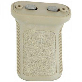 Рукоятка передняя BCM GUNFIGHTER Vertical Grip М3 KeyMod ц:песочный