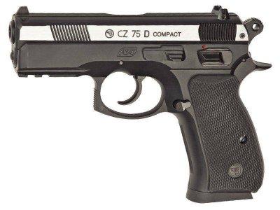 Пистолет пневм. ASG CZ 75D Compact 4,5 мм
