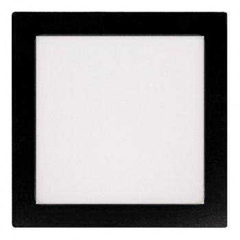 Панель LUMANO LED накладная BLACK LUSF SQ-12C 4000K 12W квадрат (160*160*28) алюминий