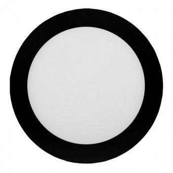 Панель LUMANO LED накладна BLACK LU-SF-RD-18C 4000K 18W коло (210*28) алюміній