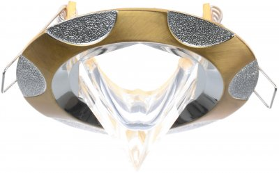 Світильник точковий Brille HDL-DS 69 SB/S (163321)