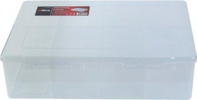 Органайзер пластиковый Ultra прозрачный 8 отсеков 350 х 270 х 95 мм (7417112)