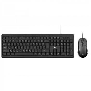 Комплект 2E MK401 USB Black (2E-MK401UB)