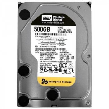 "Жесткий диск 3.5"" 500Gb WD (# WD5002ABYS #)"