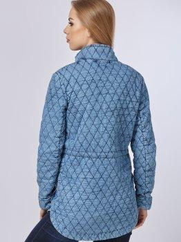 Джинсова куртка Mila Nova Q-24 Синя