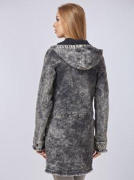 Джинсова куртка Mila Nova Q-14 Чорна