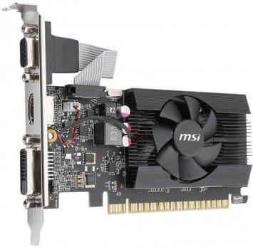 Видеокарта GF GT 710 2GB GDDR3 LP MSI (GT 710 2GD3 LP)