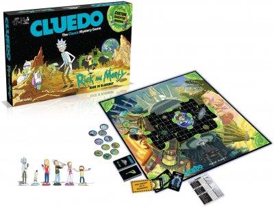 Настільна гра Winning Moves Клуедо Rick&Morty (5053410003210)