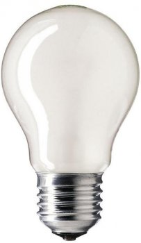 Лампа розжарювання Philips 100W E27 230V A55 FR 1CT/12X10 Stan