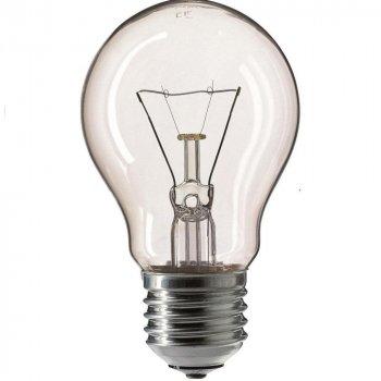 Лампа Розжарювання Philips Stan 75W E27 230V A55 CL 1CT/12X10F