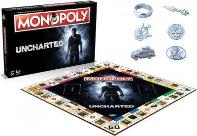 Настільна гра Winning Moves Монополія Uncharted (5036905001892)